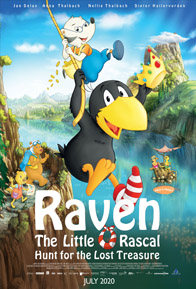 RAVEN THE LITTLE RASCAL- HUNT FOR THE LOST TREASURE